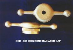Brass Alloy Dog Bone Radiator Cap suits Dodge brother cars from 1918-1926